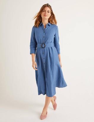 Olivia Linen Shirt Dress