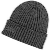 Moschino Dark Gray Knit Wool Blend Men's Hat