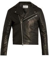 Acne Studios Gibson Leather Biker Jacket