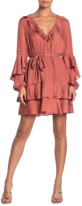 Do & Be Ruffled Mini Dress