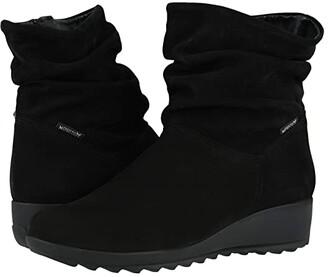 Mephisto Agatha (Black Bucksoft) Women's Boots