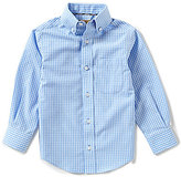 Class Club Gold Label Little Boys 2T-7 Small Checked Dress Shirt