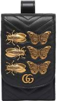 Gucci Gg Marmont Phone Case W/ Metal Appliqués