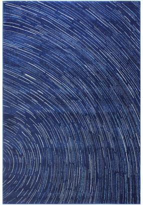 """Bashian Nala Area Rug Dark Blue 5'x7'6"""""""