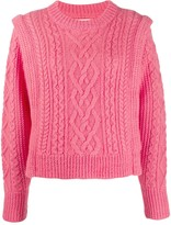 Etoile Isabel Marant cable knit sweater