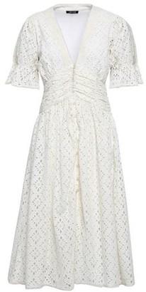 Love Sam Broderie Anglaise Cotton Midi Dress