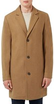 Topman Men's Wool Blend Overcoat