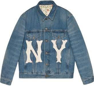 Gucci Yankees denim jacket
