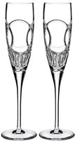 Waterford 'Wedding Vows' Lead Crystal Champagne Flutes