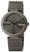 Gucci Mens Interlocking Gs PVD Watch