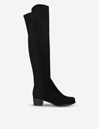 Stuart Weitzman Reserve suede over-the-knee boots