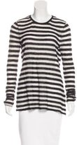 Rachel Zoe Angora-Blend Striped Top