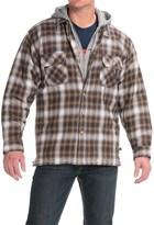 Moose Creek Dakota Flannel Shirt Jacket - Hooded (For Men)