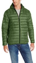 Hawke & Co Men's Hooded Down Puffer Packable Jacket