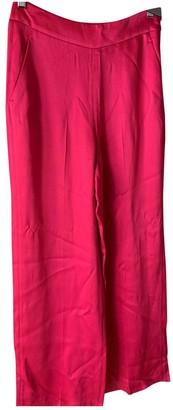 Tara Jarmon Pink Trousers for Women