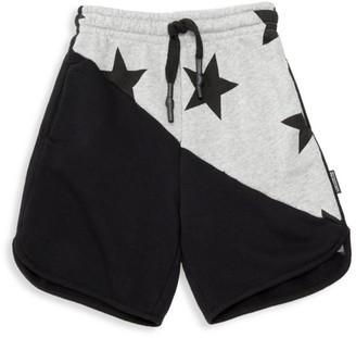 Nununu Little Boy's Half Star Shorts