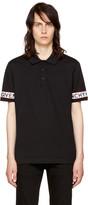 Givenchy Black Logo Sleeve Polo