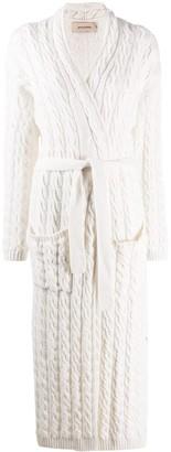 Gentry Portofino Cable Knit Cardigan