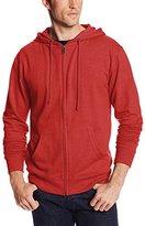 MJ Soffe Men's French Terry Zip Hooded Sweatshirt