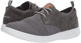 Rockport Zaden Plain Toe Oxford (Boston Tan Leather) Men's Shoes