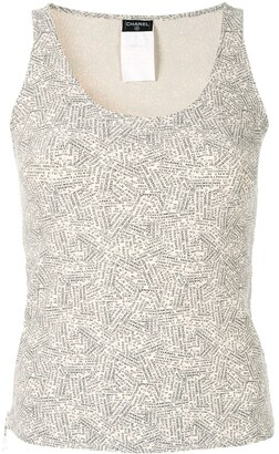 Chanel Pre Owned 1999 Sleeveless Tops
