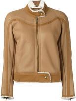 Chloé shearling lined jacket