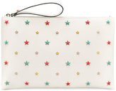 RED Valentino star embellished clutch - women - Leather - One Size