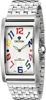Croton Men's CN307533SSWH ARISTOCRAT Analog Display Quartz Silver Watch