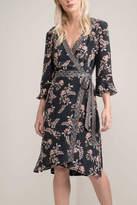 Greylin Kimono Wrap Dress