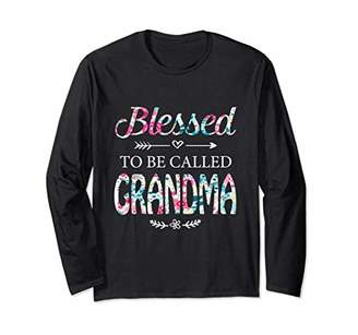 Womens Blessed To Be Called Grandma T-shirt