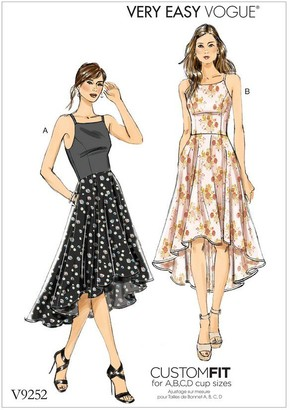 Vogue Very Easy Women's Dresses Sewing Pattern, 9252