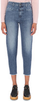 Closed Pedal pusher tapered mid-rise jeans