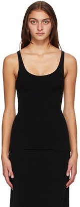 Totême Black Wool Urda Tank Top