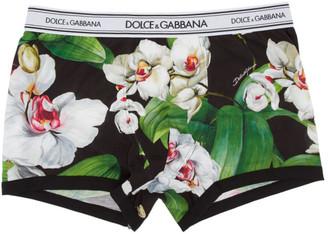 Dolce & Gabbana Multicolor Floral Orchidee Boxer Briefs