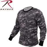 Rothco Long Sleeve Digital Camo T-Shirts, Camo - Large