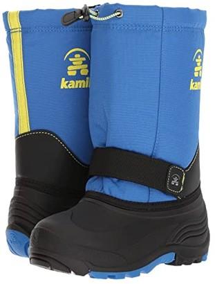 Kamik Rocket (Toddler/Little Kid/Big Kid) (Blue/Sulphur) Boy's Shoes