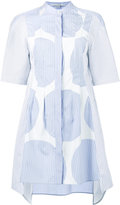 Stella McCartney short sleeve shirt dress - women - Cotton - 44