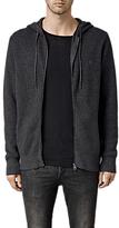 AllSaints Trias Chunky Knit Cotton Hoodie