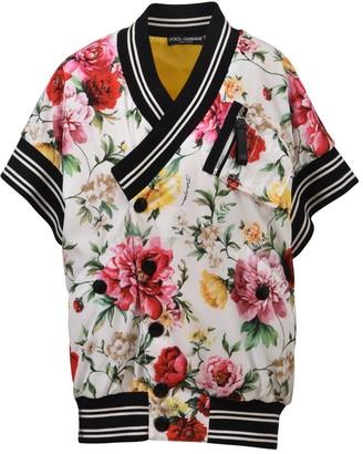 Dolce & Gabbana Floral Print Short-Sleeved Jacket