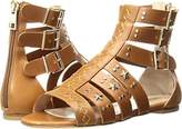 Just Cavalli Women's Cow Lth With Studs Gladiator Sandal,39 EU/9 M US