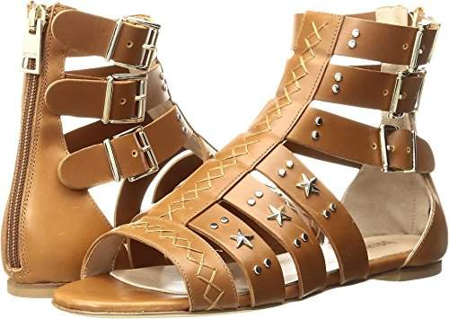 Just Cavalli Women's Cow LTH with Studs Gladiator Sandal