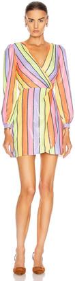 Olivia Rubin Meg Dress in Resort Stripe | FWRD