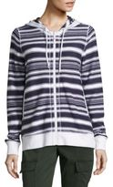 Tommy Bahama Socrates Striped Cotton Hoodie