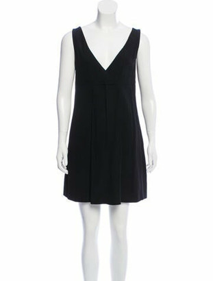 Dolce & Gabbana Sleeveless Vintage Mini Dress Black