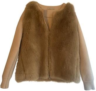 Roberto Collina Ecru Wool Jacket for Women