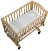 BB Basics Flannel Waterproof Flat Portable Crib Pad Cover