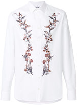 Alexander McQueen floral placket shirt - men - Cotton - 15 1/2