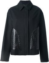 MM6 MAISON MARGIELA short zipped coat