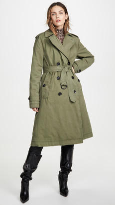 Marissa Webb Raleigh Trench Coat