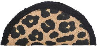 Shiraleah Women's Clutches MULTI - Brown & Black Leopard Kumo Half-Moon Clutch